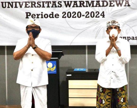 Pelantikan Pejabat Struktural Sekolah Vokasi, Sekretaris Prodi, Kepala Lab FH, dan Kasubag UPT Perpustakaan Periode 2020-2024 Dilingkungan Unwar