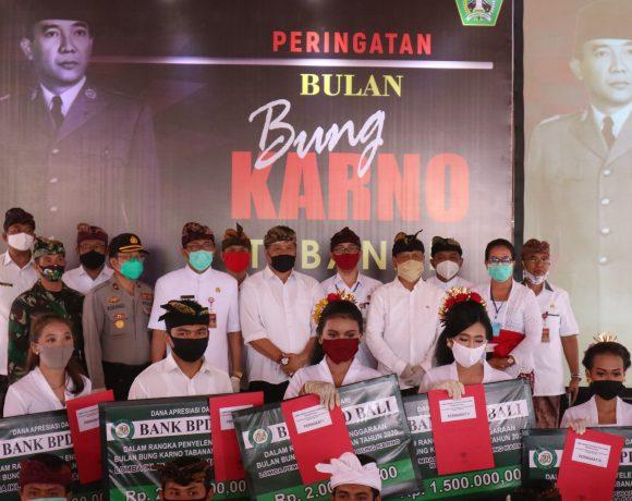 Kegiatan Bulan Bung Karno ditutup, semangat Trisakti dalam membangun Tabanan New Normal-kabarbalihits