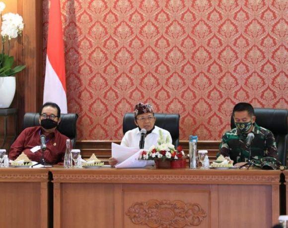 Bupati/Walikota se-Bali Sepakat Tatanan Kehidupan Era Baru Dimulai 9 Juli