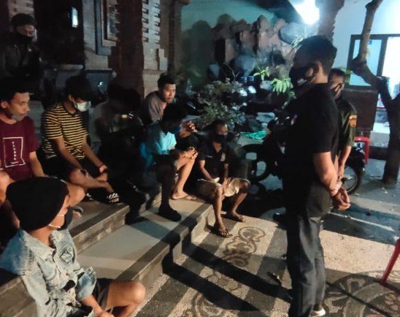 Delapan Warga Diamankan Satgas Covid-19 di Desa Peguyangan Kangin-kabarbalihits
