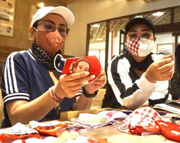 Tingkatkan Kreatifitas Generasi Muda, Dekranasda Denpasar Bersama Juna Colection Gelar Lomba Masker