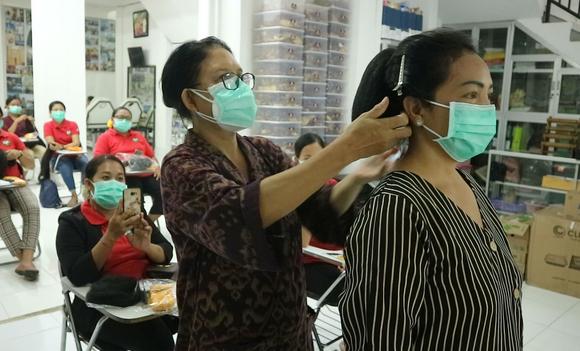 Permintaan kursus kecantikan meningkat, LKP Agung jamin Protokol Kesehatan peserta-kabarbalihits