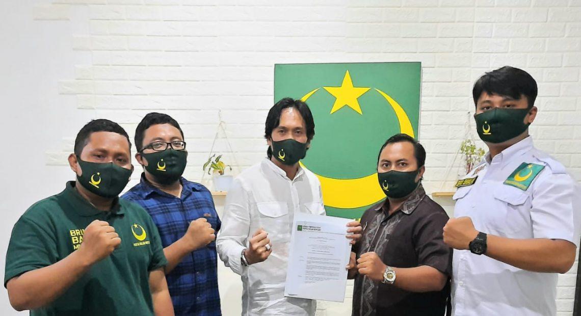 Terima SK DPP, Rudianto Resmi Nahkodai DPC PBB Kota Denpasar