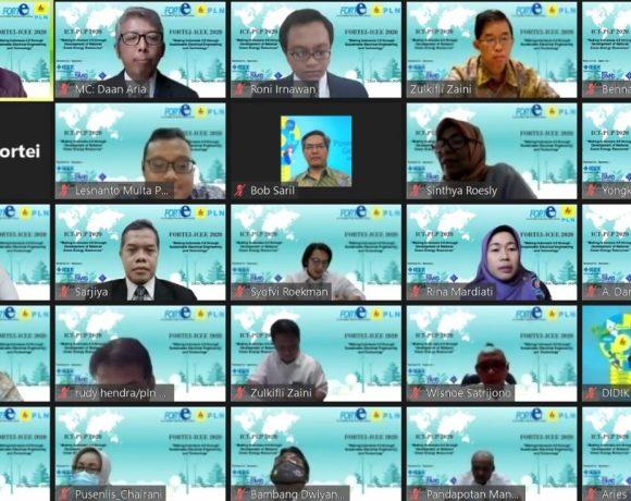 Dorong Pengembangan EBT, PLN Gelar Konferensi Akademik Internasional ICT-PEP 2020