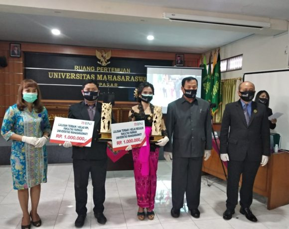 Pelantikan dan Pengambilan Sumpah Tenaga Teknis Kefarmasian Lulusan Ke 10 Fakultas Farmasi Unmas Denpasar