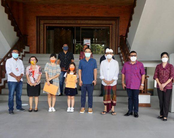 Pemkot Denpasar Terima Bantuan 1000 Kg Beras dari Warga Korea Selatan, Akan Di Distribusikan Kepada Masyarakat Terdampak Covid 19.