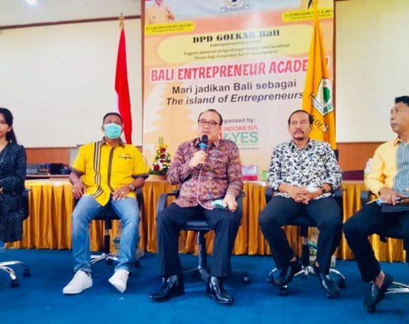 """Pertama, Golkar Bali Luncurkan Program """"Bali Entrepreneur Academy"""" Wujudkan Bali The Island of Entrepreneurs-kabarbalihits"""