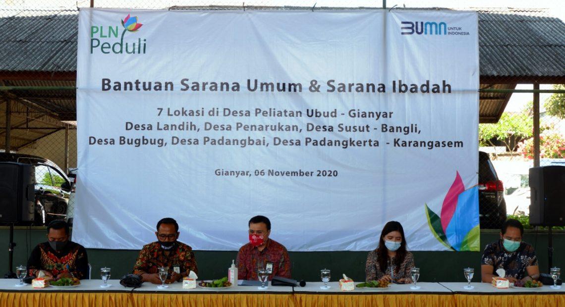 CSR PLN UID Bali, Rp 1,3 Milyar untuk Rumah Ibadah dan Sarana Umum-kabarbalihits
