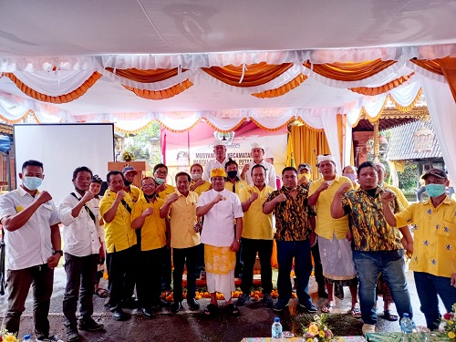 Agenda Muscam di Enam Kecamatan Berjalan Aklamasi, Wayan Suyasa Ajak Kader Solid Besarkan Golkar-kabarbalihits