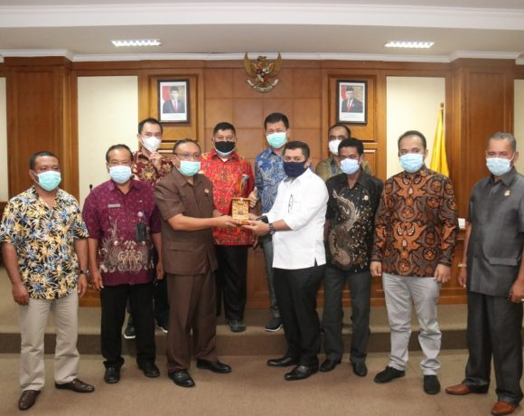Studi Komparasi Penyelenggaraan Kearsipan,DPRD Provinsi Maluku Utara Kunjungi DPRD Badung