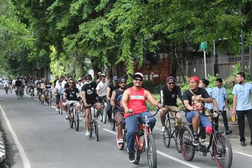 Ride For JRX, Bersepeda dan Bersolidaritas Untuk Pengungsi Erupsi Gunung Lewotolok NTT-kabarbalihits