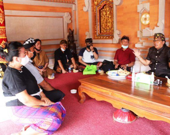 Bupati Giri Prasta Siap Sukseskan Pelebon (alm) IB Made Sunartha-kabarbalihits