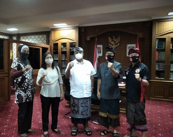 Terima Audensi Lemkari, Parwata Harapkan Sekolah di Badung Aktif Membangun Lemkari-kabarbalihits