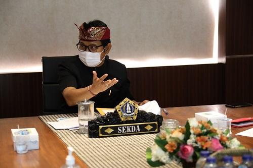 Sekda Adi Arnawa Pimpin Rakor CTP Proyek KPBU Jalan Lingkar Selatan-kabarbalihits