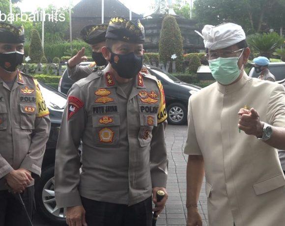 Jaga Kondusifitas Kamtibmas,Kapolda Bali Sowan Ke Puri Ageng Mengwi