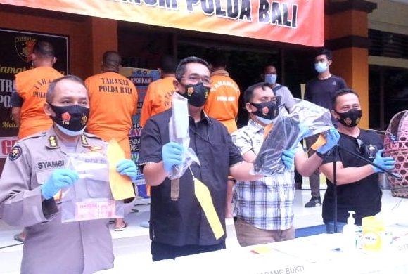 Situasi Pandemi, Pelaku Judi Tajen Diamankan Polda Bali