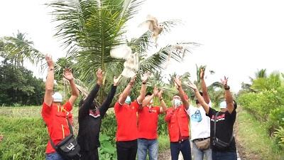 Bersama SOKSI, Bambang Soesatyo Lepas Burung Hantu Di Tabanan-kabarbalihits
