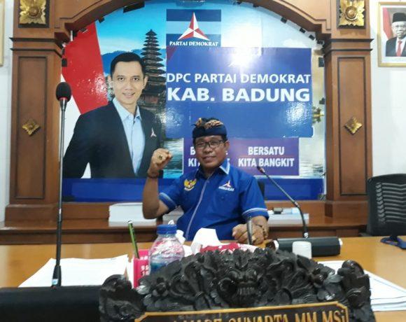 Partai Demokrat Badung Konsisten Dukung Ketum AHY, Tegas Tolak KLB