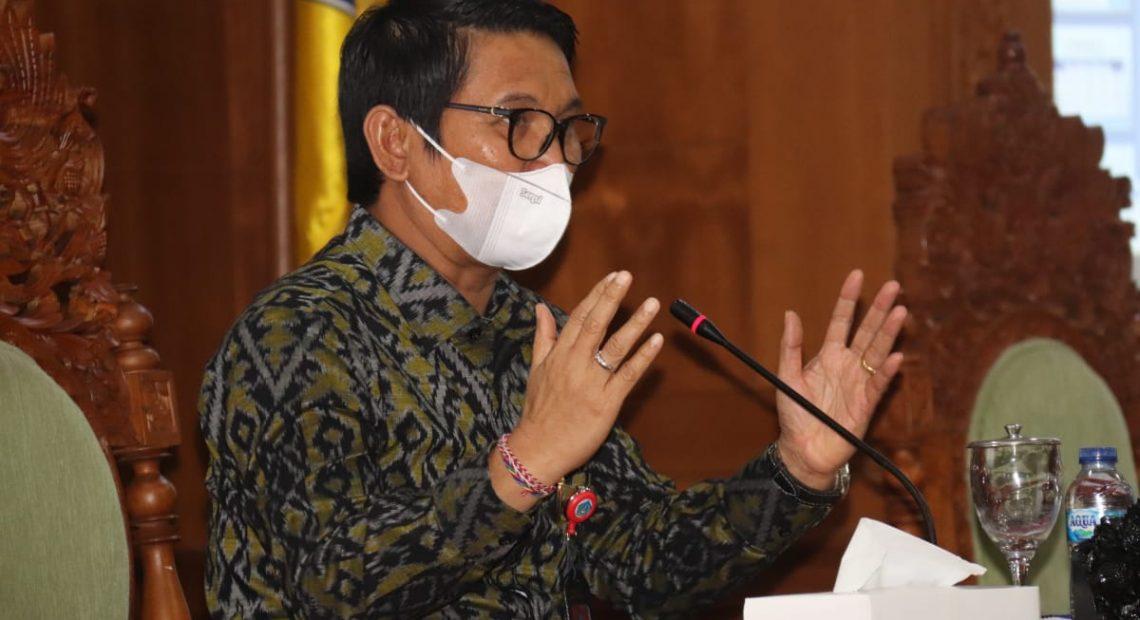 Plh. Bupati Badung Terbitkan SE Perpanjangan PPKM Mikro di Badung
