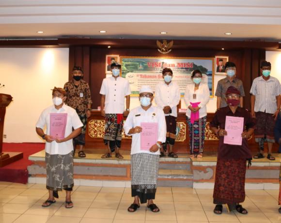 6 Pura Kawasan Catur Angga Warisan Budaya di Tabanan Ditetapkan Sebagai Cagar Budaya Peringkat