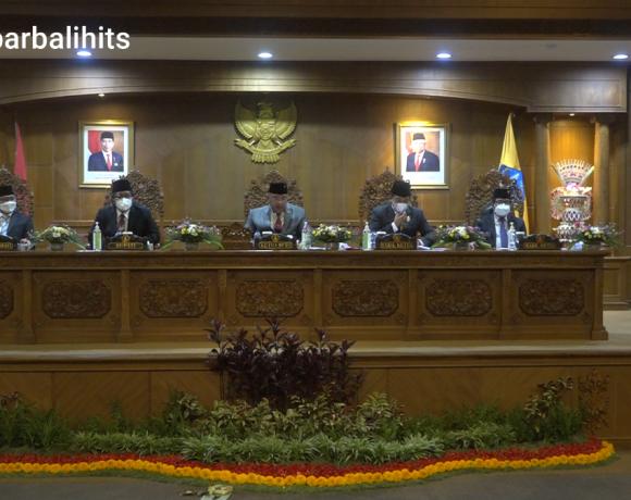 Sidang Paripurna Istimewa Pidato Bupati Badung, Parwata : Dewan Bersama Eksekutif Sinergi Realisasikan Program Prioritas