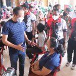 Pantau Pelaksanaan Vaksinasi di Benoa dan Jimbaran, Wabup Suiasa Apresiasi Antusiasme dan Partisipasi Masyarakat