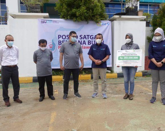 Salurkan Donasi GAJIANEMAS, Pegadaian Bantu Korban Gempa Bumi Mamuju-Majen
