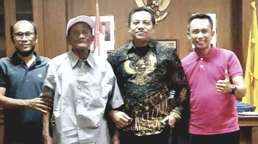 Harapkan Kompensasi Lahan dari Pemkab Badung, Kakek Renta Datangi DPRD Badung