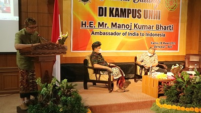 Serius Kembangkan Pengobatan Tradisonal Ayurweda, Unhi Denpasar Gandeng Dubes India Untuk Indonesia-kabarbalihits