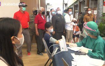 Tinjau Vaksinasi di Discovery Shopping Mall Kuta, Putu Parwata Ajak Warga Sukseskan Vaksinasi Covid-19-kabarbalihits