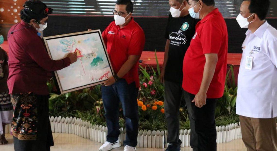 Bupati Sanjaya Launching Rumah Kreatif Tabanan Hub-BPD Bali