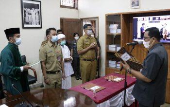 Bupati Sanjaya Lantik 145 Pejabat Fungsional di Lingkungan Pemkab Tabanan