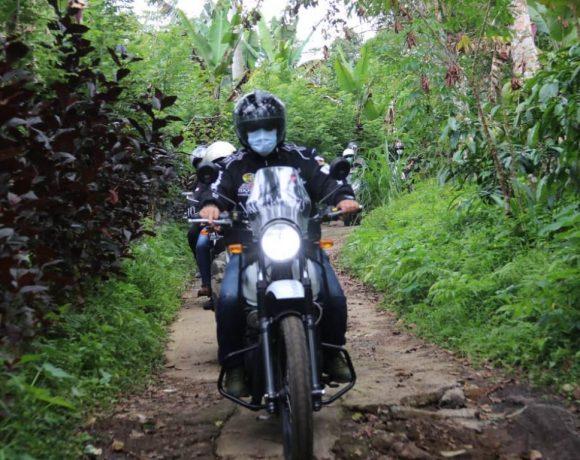 Kendarai Motor, Bupati Sanjaya Road Show Melintasi Desa-Desa di Tabanan