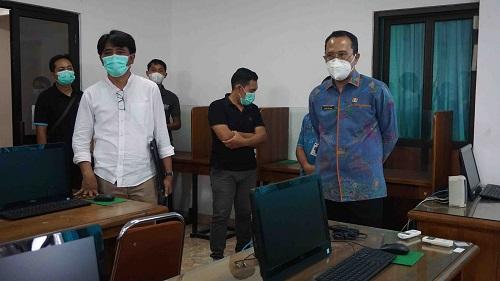 Satgas Penanganan COVID-19 Buleleng Sarankan Kontrol Parkir Saat UTBK di Undiksha-kabarbalihits