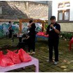 Langkah Baik I Made Suarta, Serahkan Bantuan Paket Sembako Kepada Warga Banjar Lantang Bejuh dan Dukuh Sari Sesetan-kabarbalihits
