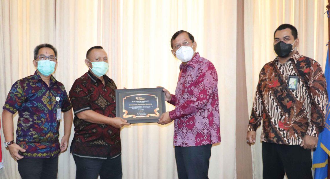Lindungi Pekerja, Wakil Bupati Buleleng Dukung Kerjasama dengan BPJS Ketenagakerjaan