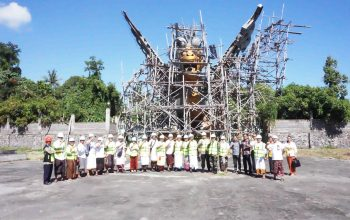 RTH Taman Bung Karno Tahap IV Mulai Dikerjakan