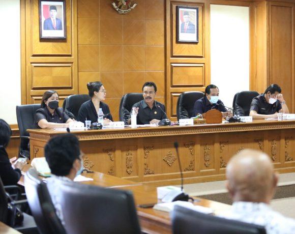 Raker Komisi IV Badung, TPP Dibayar Hingga Maret, PTM Diprediksi Bulan Juni