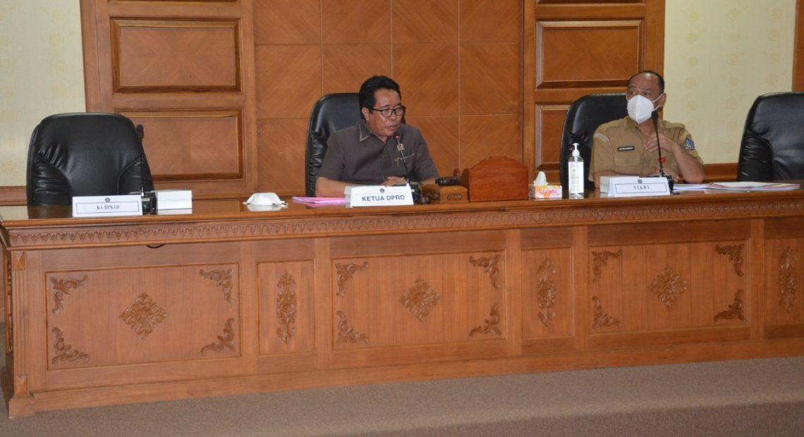 Bahas Awal RPJMD-SB Badung, Ini Saran Dewan ke Eksekutif-kabarbalihits