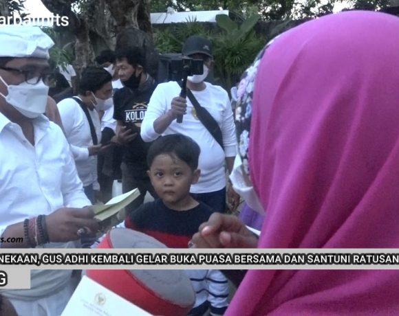 Jaga Kebhinekaan, Gus Adi Amatra Gelar Buka Puasa Bersama Sekaligus Santuni Ratusan Anak Yatim & Kaum Dhuafa