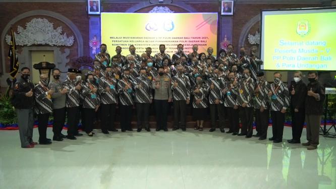 Musyawah Daerah V PP Polri, Perjuangkan Kesejahteraan Anggota