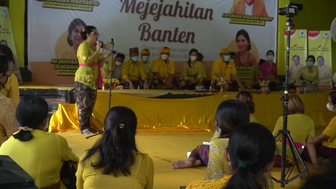Peringati Hari Kartini,Golkar Sebagai Pelita Melatih Kader Perempuan Membuat Banten
