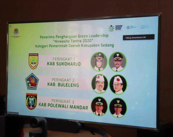 Satu-satunya di Bali Nusra, Buleleng Raih Penghargaan Nirwasita Tantra 2020