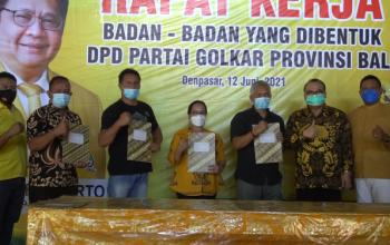 """Semakin Dekat Dengan Rakyat, Golkar Bali Bentuk """"Badan-Badan"""""""