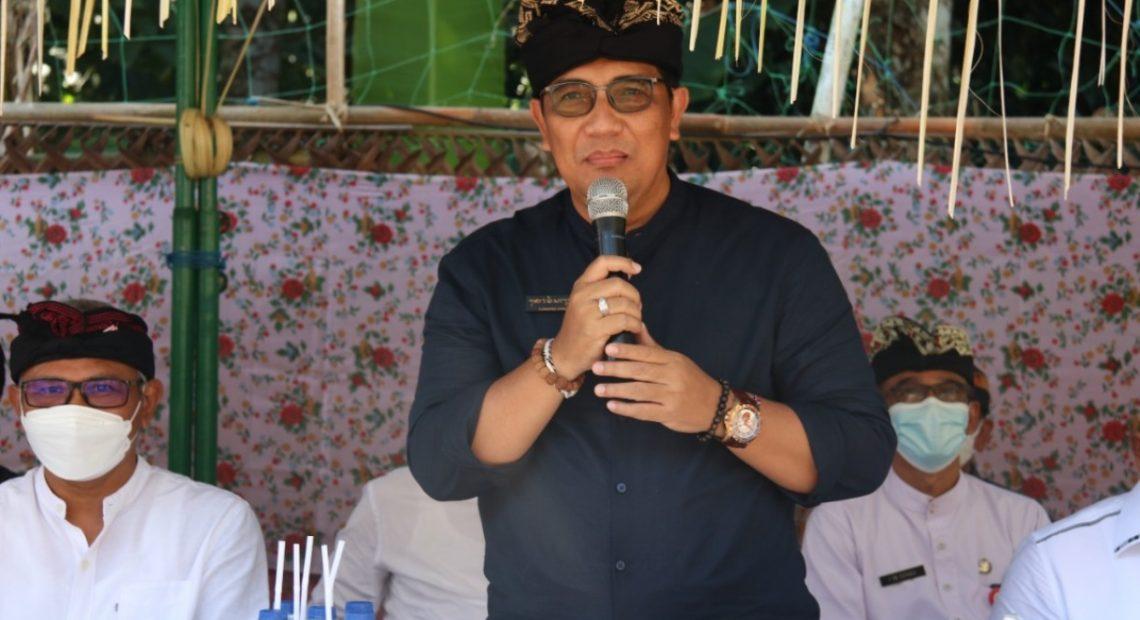 Bupati Sanjaya Apresiasi Ngaben Megabung Selemadeg Kelod yang Memperhatikan Penerapan Protokol Kesehatan