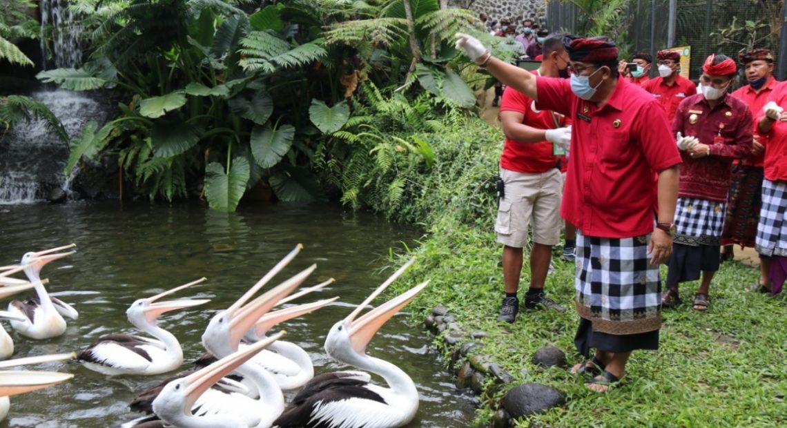 Berpotensi Tinggi Sebagai Destinasi Wisata Terbaru Di Tabanan, Taman Satwa Tabanan (Tasta) Wildlife Park resmi dibuka Bupati Sanjaya