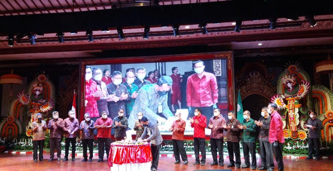 Bupati Buleleng Hadiri Puncak Perayaan HUT BPD Bali ke-59