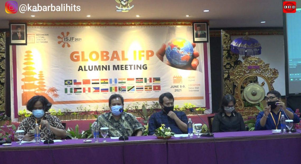 Global IPF Alumni Meeting 2021 Berlangsung Disanur : Dari Isolasi ke Kolaborasi