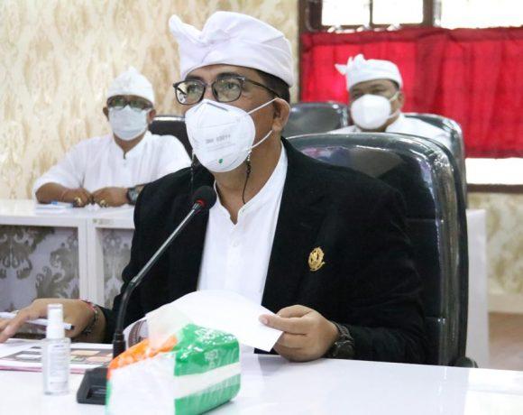 Fokus Masalah Oksigen dan Isoter, Bupati Tabanan Harapkan Dukungan Penuh Provinsi