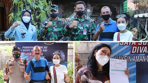 PT Indo Bali Gas Group Sinergi Lanud Gelar Vaksinasi-kabarbalihits
